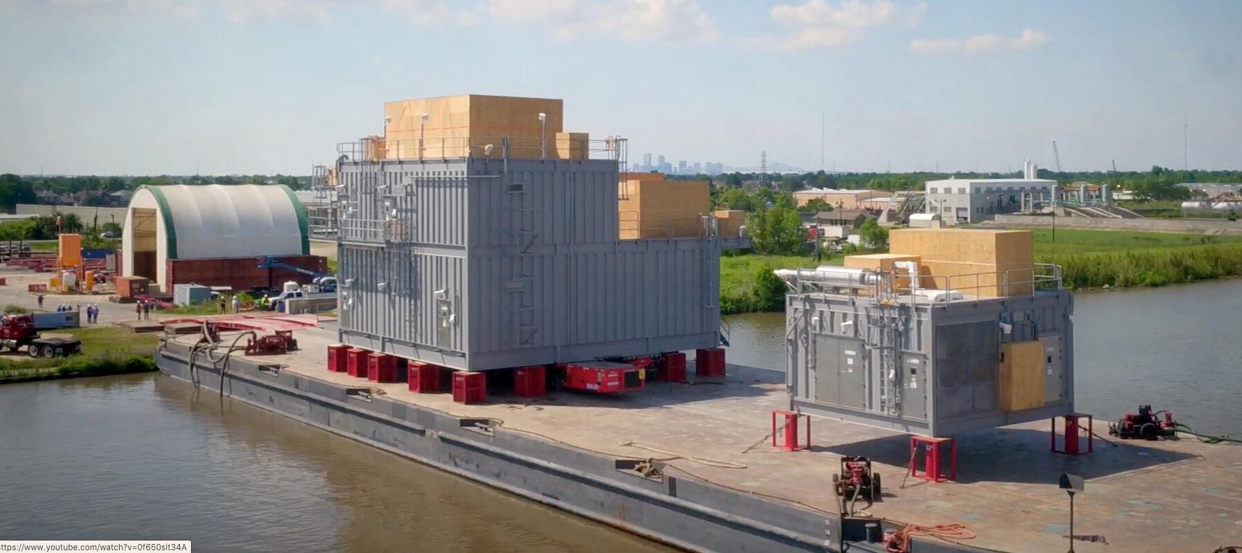 Shell Vito Power Control Distribution Building Loading