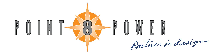 Point Eight Power - Partner in design